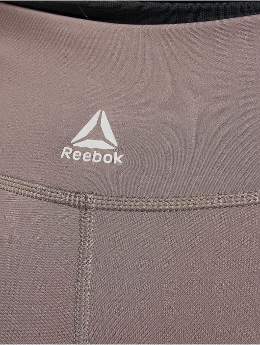 Reebok Performance Leggings/Treggings D Mesh szary