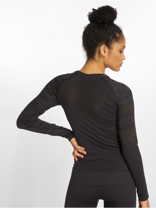Reebok Performance Longsleeve OS Thermowarm Seamless black