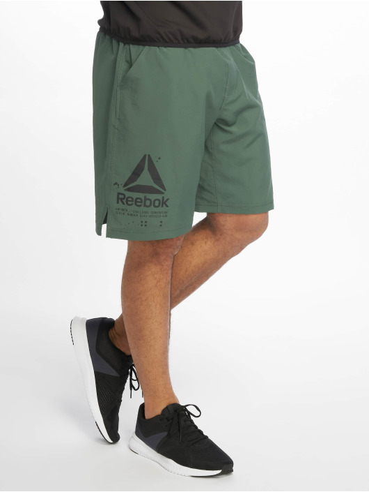 Reebok Performance Shortsit Epic vihreä