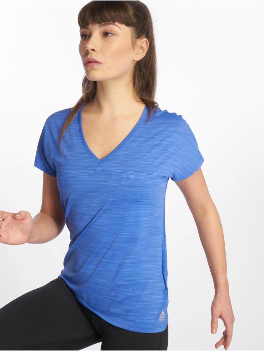 Reebok Performance Sport Shirts OS AC blå