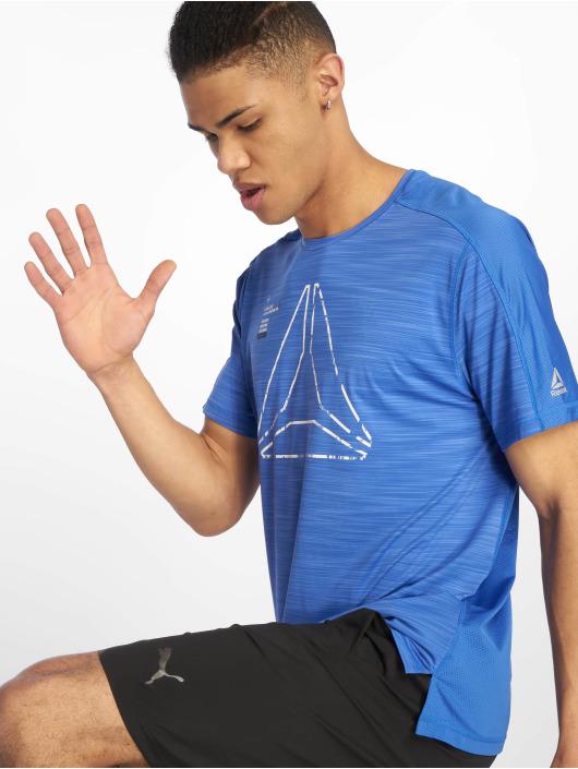 Reebok Performance Sport Shirts Ost Activchill Grap blå