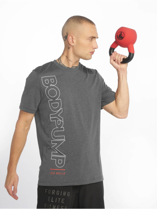 Reebok Performance Sport Shirts Bodypump grijs