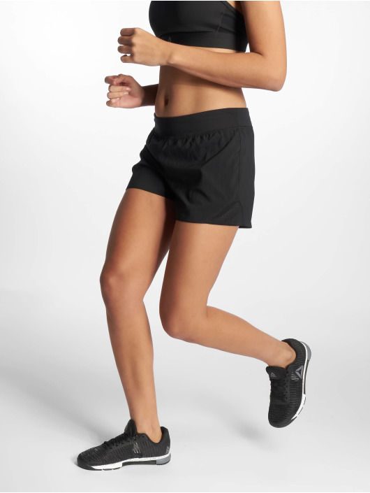 Reebok Performance Sport Shorts Wor Knit Woven schwarz