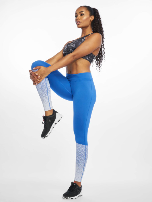 Reebok Performance Sportleggings Rc Lux Fade blauw