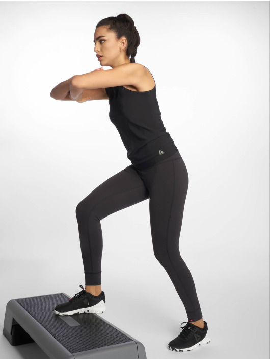 Reebok Performance Sportleggings Lux High-Rise svart