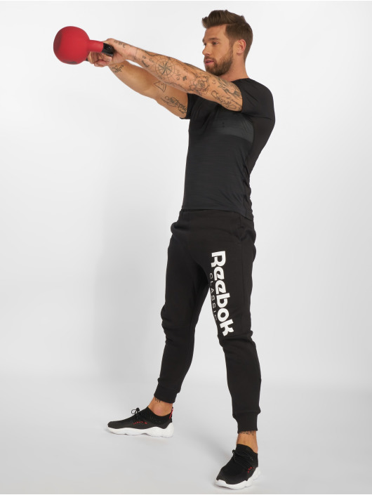 Reebok Performance Sportshirts Ac Graphic èierna