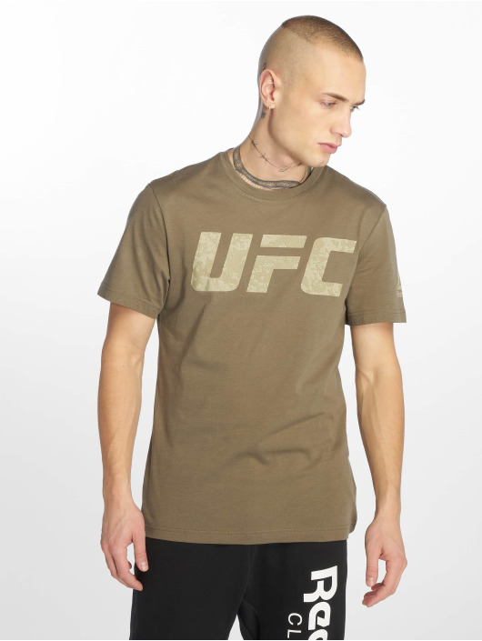 Reebok Performance Sportshirts Ufc Fg Logo šedá