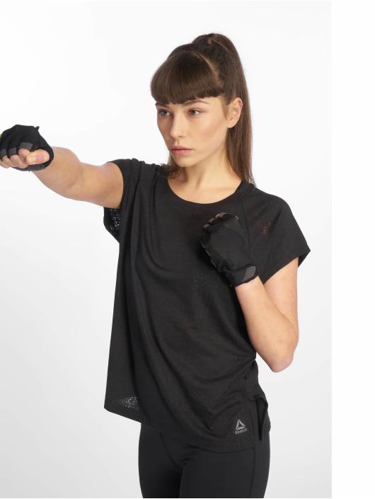 Reebok Performance Sportshirts Os Bo czarny