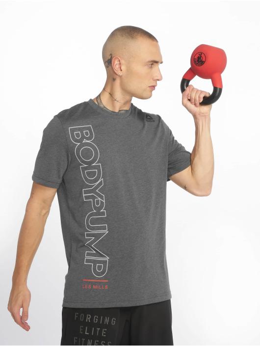 Reebok Performance T-paidat Bodypump harmaa