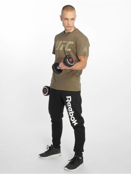 Reebok Performance T-Shirt Ufc Fg Logo grau