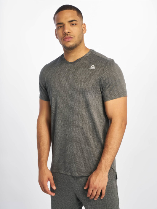 Reebok Performance T-Shirt Wor Melange Tech To grau