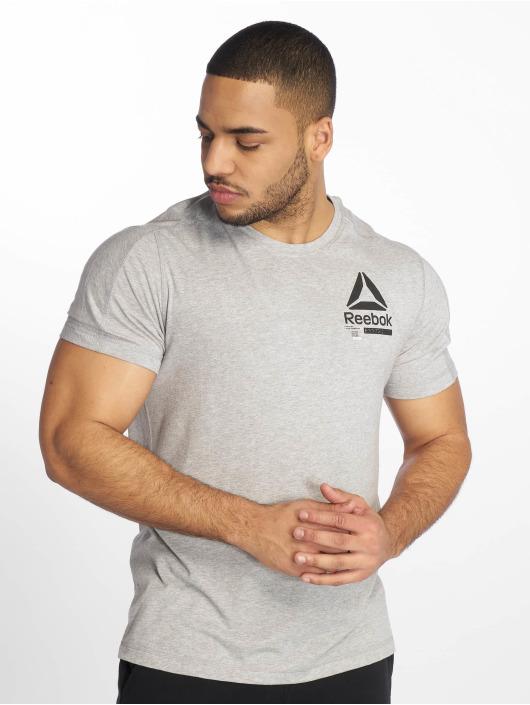 Reebok Performance t-shirt Ost Speedwick Move grijs