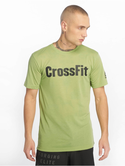 Reebok Performance t-shirt Rc Fef Speedwi groen