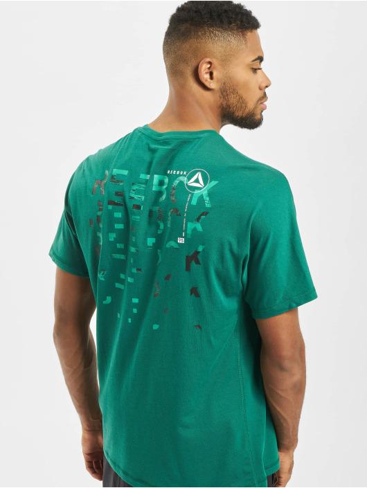 Reebok Performance t-shirt Speedwick Graphic groen