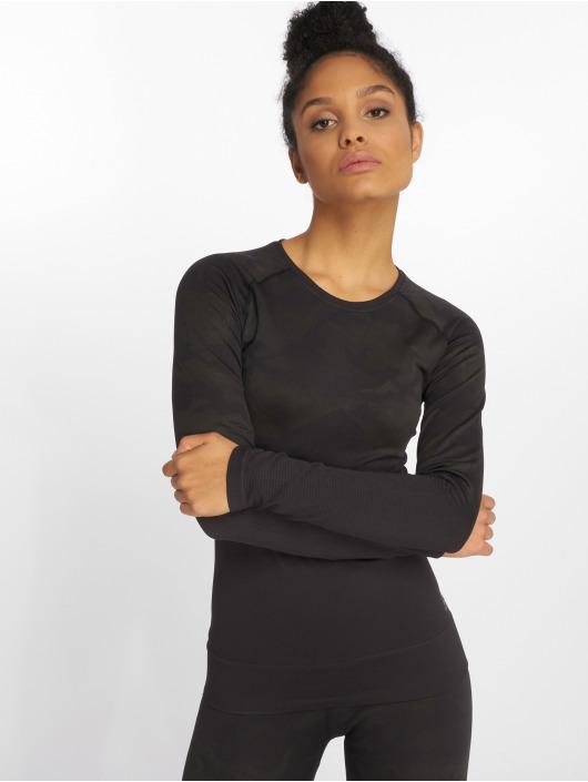 Reebok Performance T-Shirt manches longues OS Thermowarm Seamless noir