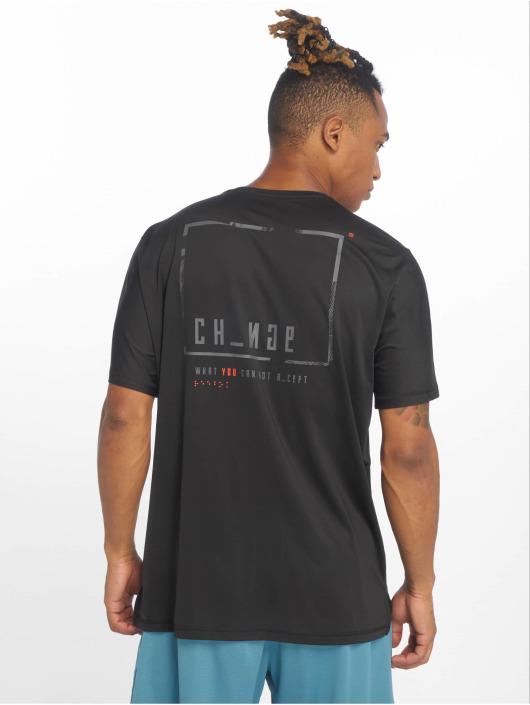 Reebok Performance t-shirt Ost Activchill Grap zwart