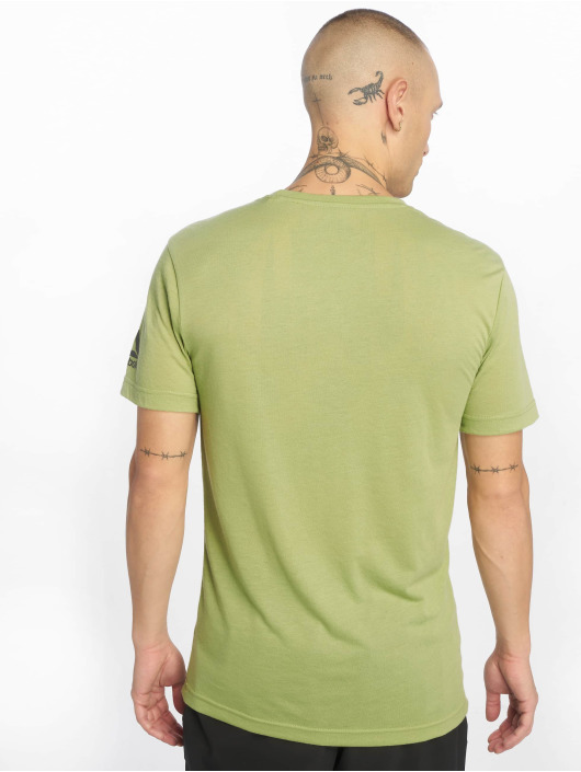 Reebok Performance T-skjorter Rc Fef Speedwi grøn