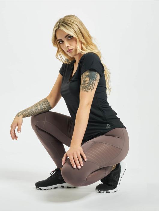 Reebok Performance T-skjorter Activchill svart