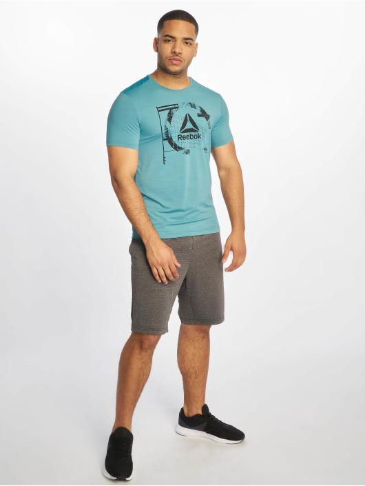 Reebok Performance T-skjorter Wor Activchill Grap turkis