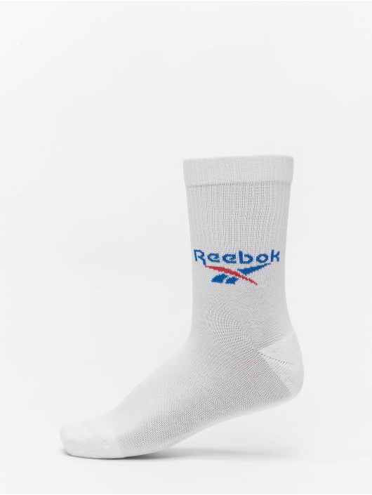 Reebok Ponožky 3 Pack Fo Crew biela