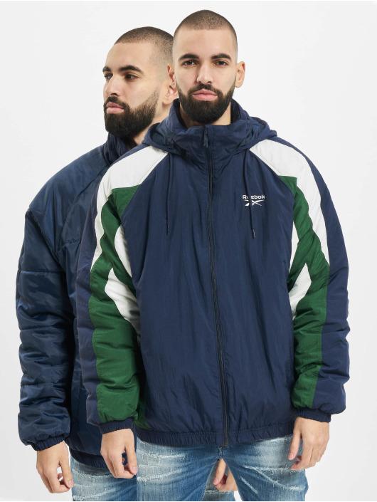 Reebok Puffer Jacket F Twin Vector blau