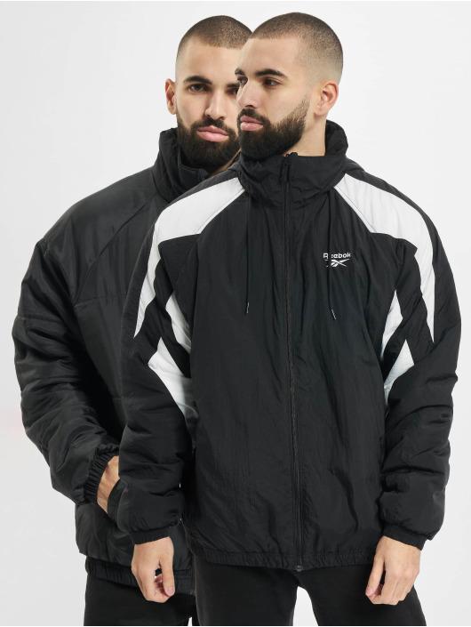 Reebok Puffer Jacket F Twin Vector schwarz