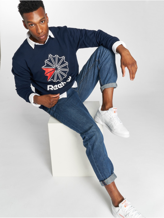 Reebok Pullover AC FT Big Starcrest blau