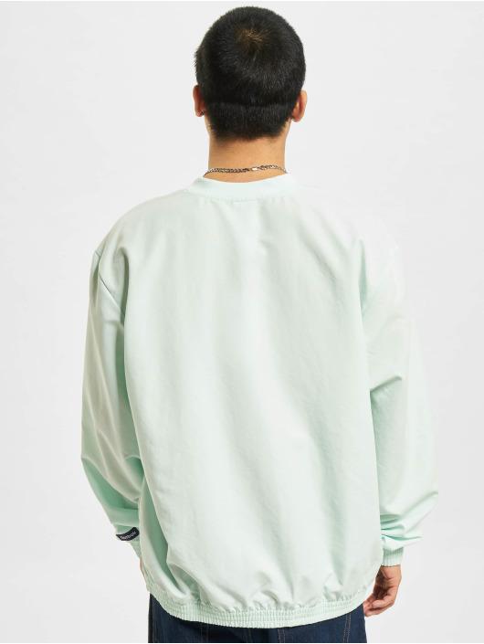 Reebok Pullover CL TS Woven Crew blau