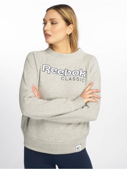 Reebok Pullover AC Iconic Fleece grau