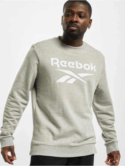 Reebok Pullover Identity French Terry Big Logo gray