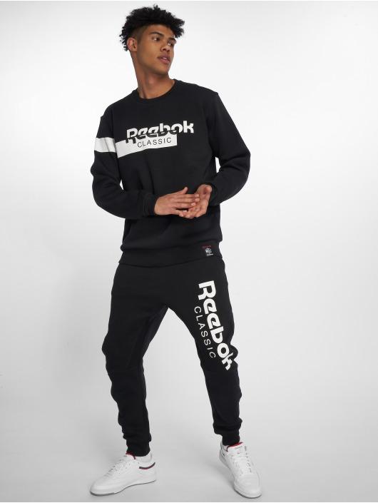 Reebok Pullover AC F DIS Fleece schwarz