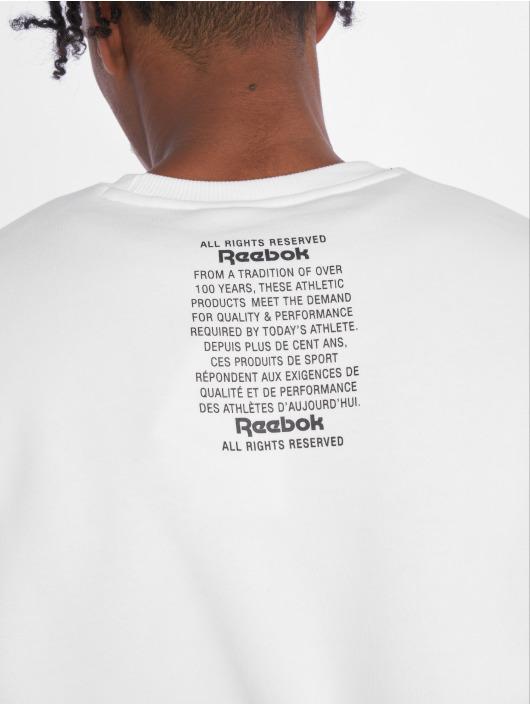 Reebok Pullover GP Unisex Fleece weiß
