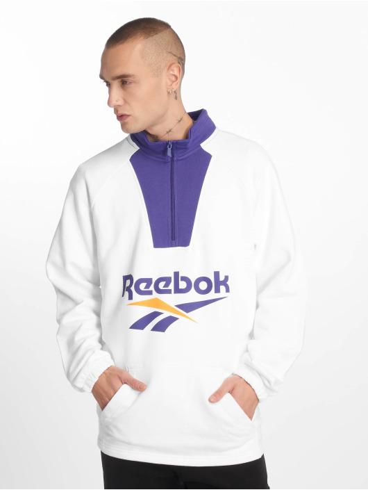 Reebok Pullover Classic V 1/4 Zip weiß