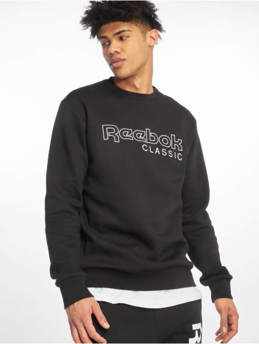 Reebok Pulóvre Fleece Crew èierna