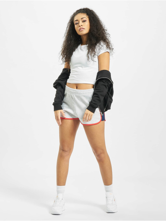 Reebok Shorts F Linear grau