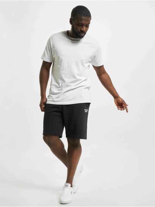 Reebok Shorts Identity French Terry schwarz