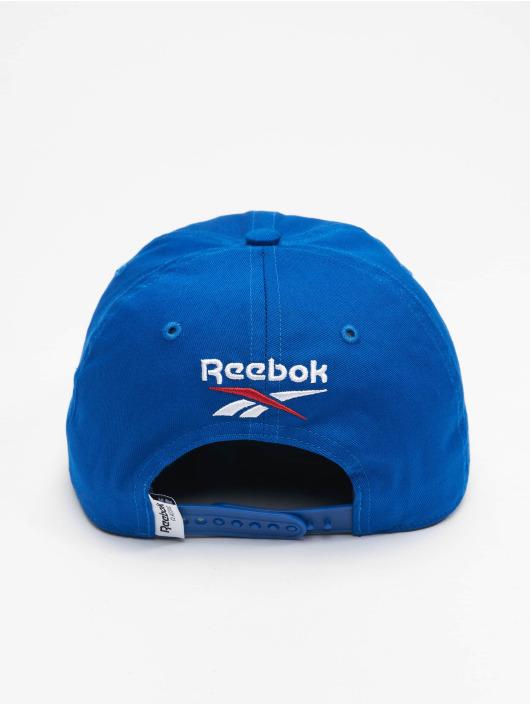Reebok snapback cap Travel blauw