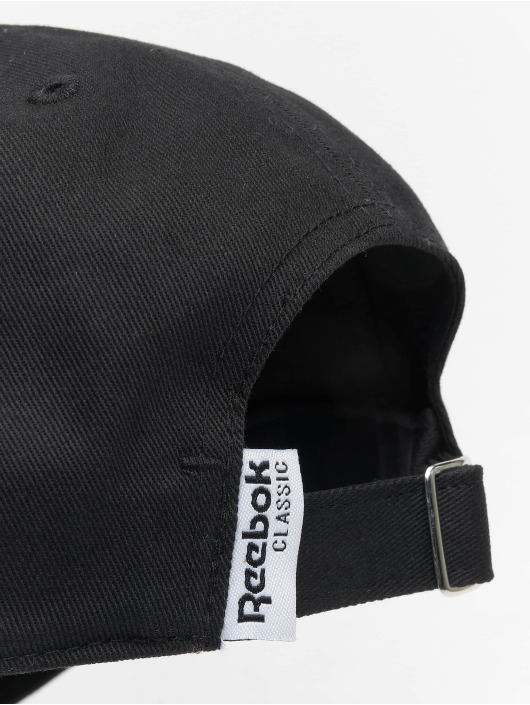 Reebok Snapback Cap Printemps Ete schwarz