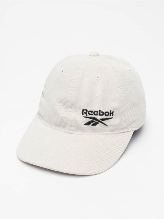Reebok Snapback Caps Corduroy bialy