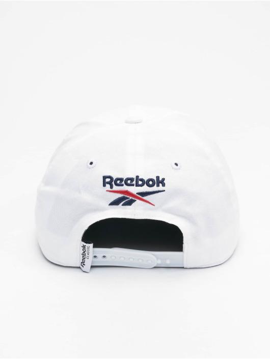 Reebok Snapback Caps Travel bialy