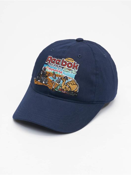Reebok Snapback Caps Classics Travel modrý