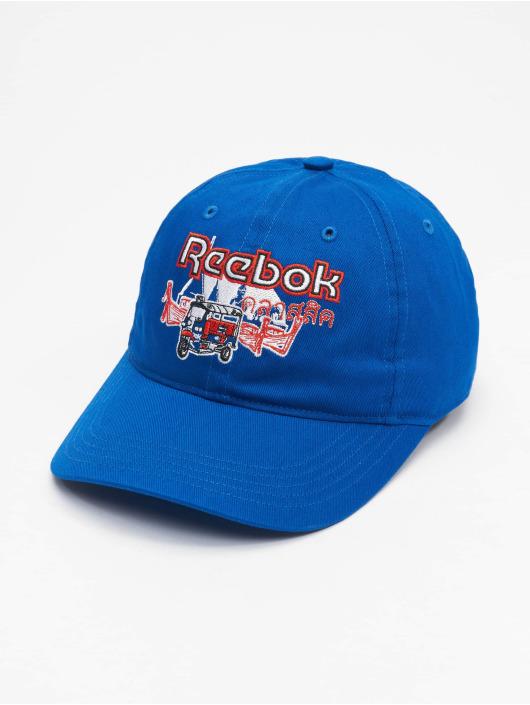 Reebok Snapback Caps Travel niebieski