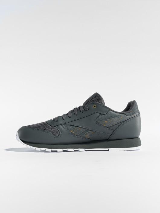 Reebok Sneaker Cl Leather Mu grau