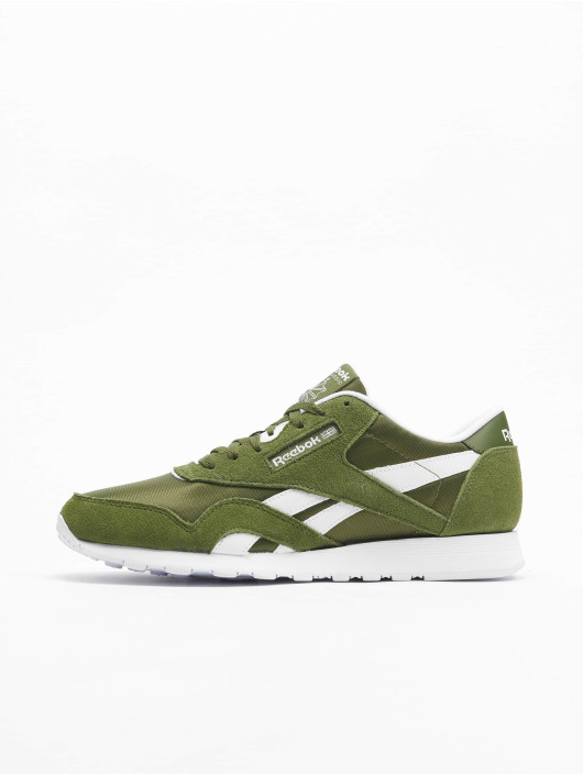 Reebok sneaker Classics Nylon groen