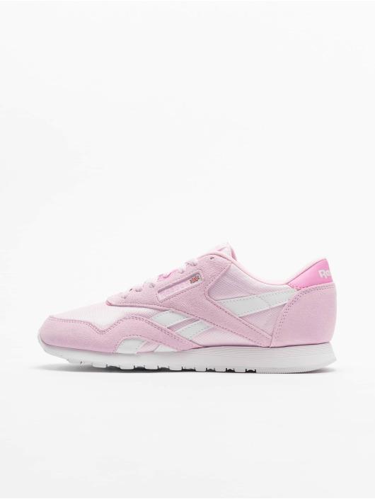 Reebok Sneaker Classic Nylon pink