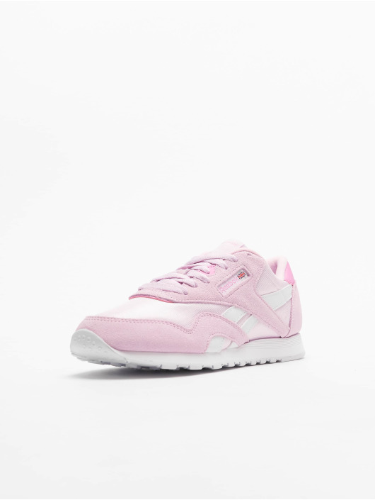 Reebok Damen Sneaker Classic Nylon in pink 740552