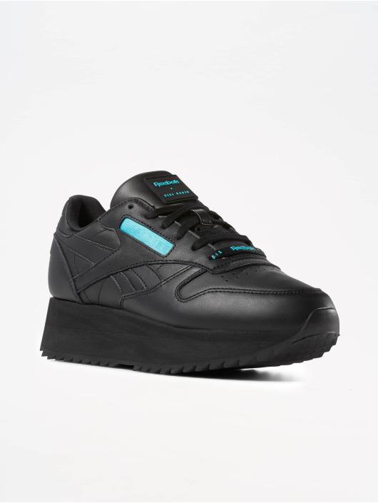 Reebok Sneaker Classic Leather Double schwarz