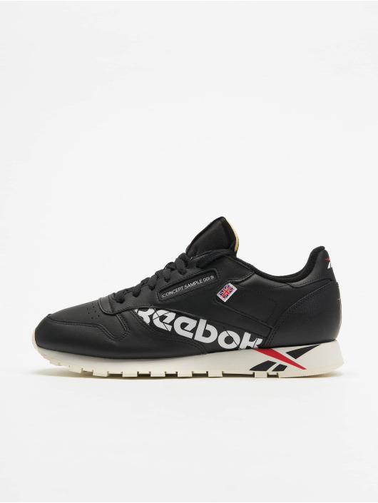 f5cdf1cdb4f19 Reebok Herren Sneaker Classic Leather MU in schwarz 598376
