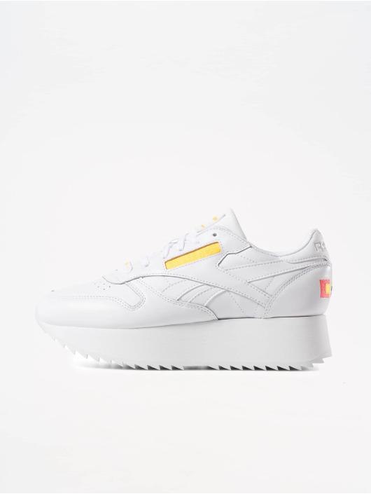 Reebok Sneaker Classic Leather Double weiß