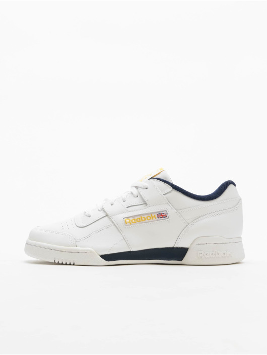 Reebok Sneakers Workout Plus MU bialy